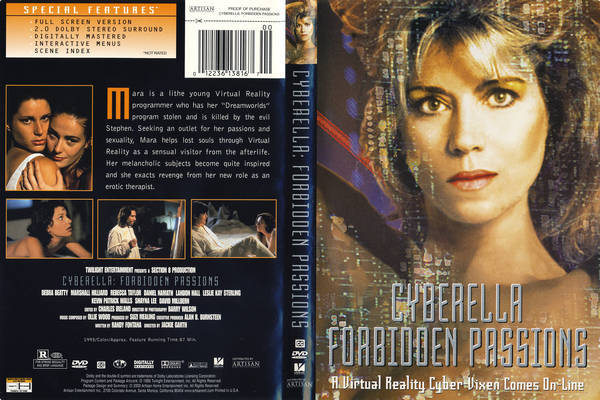 Cyberella-Forbidden-Passions-1995-Front-Cover-86042